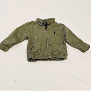 Green Ralph Lauren Light Jacket 24M